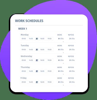 Software turnos de trabalho