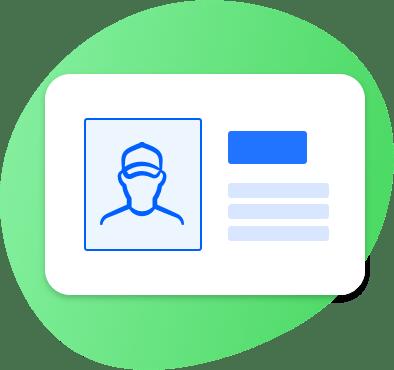 relatórios de segurança e controlo de pessoal externo