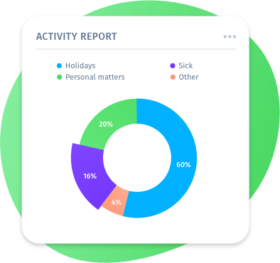 App de picagem do ponto com Relatórios de recursos humanos